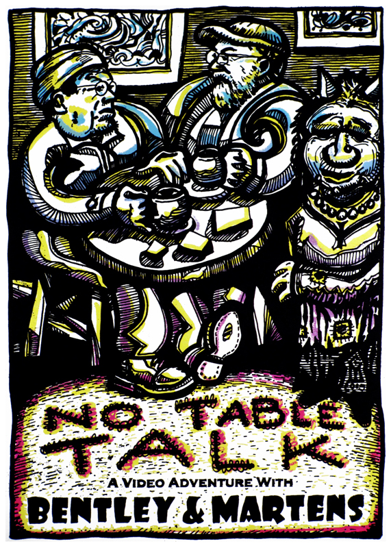 No Table Talk screen print