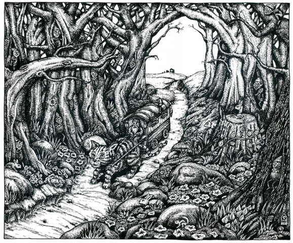 Can you find the 9 elves hidden in the picture?