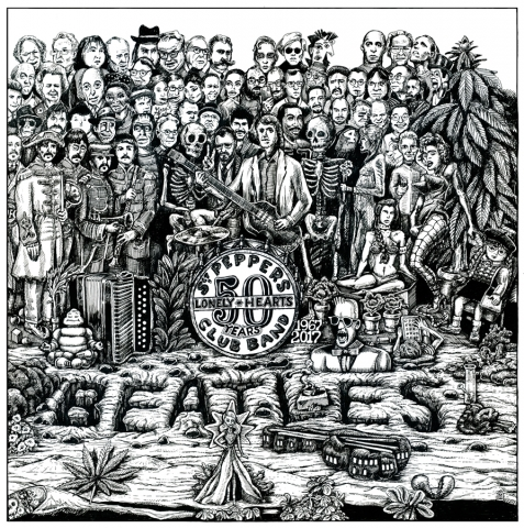 Beatles Sargent Pepper album redux on 50th anniversary